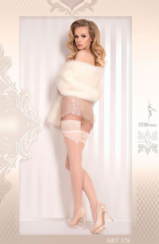Ballerina bridal hold ups